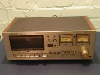 SHARP RT-1157H STEREO CASSETTE TAPE DECK C/W INSTRUCTIONS