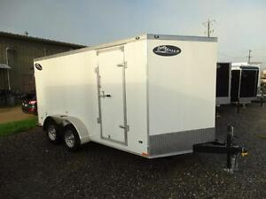 7x14 Enclosed trailer for $48.80 per payment! Kitchener / Waterloo Kitchener Area image 2