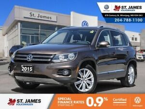 2015 Volkswagen Tiguan Highline 2.0TSI PANORAMIC SUNROOF, HEATED