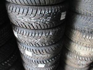 195/65 R15 99% NEW UNIROYAL WINTER TIRES ON CHEVY SONIC STEEL RIMS - SNOW TIRES (SET OF 4 - $420.00) - APPROX. 99% TREAD