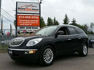 2008 Buick Enclave CXL AWD  7 PASSENGER/LEATHER/MOONROOF/DVD