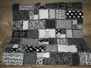 Personalized Wedding Quilt - custom made!