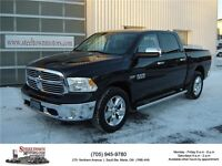 2015 Ram 1500 SLT Big Horn Crew |Auto 4x4 on Dash| Tow Package
