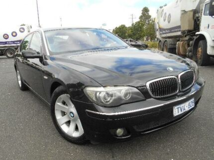 2005 BMW 740LI E66 MY05 Upgrade Black 6 Speed Auto Steptronic Sedan