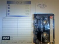 A2Z. 5x BBC, BIB 2x BUSH CLYDE CURRYS 2x DENON 2x DINDY 2x DIXONS RARE NEW/USED BLANK CASSETTE TAPES