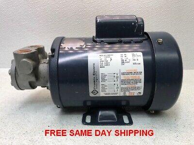 Franklin Electric Motor 4111020101 14 Hp 115230 V Item 748528-r5