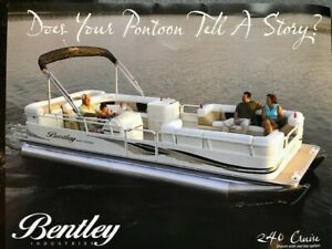 2008 Bentley 240 Cruise Pontoon Boat