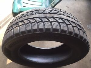 245/60R18 WINTER TIRES A SET OF 4 THEY HAVE 95% TREAD