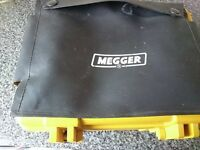 Megger manually operated appliance tester
