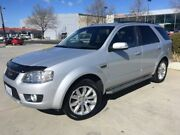 2010 Ford Territory SY Mkii Ghia AWD Silver 6 Speed Sports Automatic Wagon Fyshwick South Canberra Preview