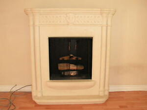 Real Flame Gel Fireplace-Ventless
