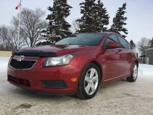 2014 Chevrolet Cruze, LTZ-PKG, DIESEL, AUTO, LEATHER, ROOF, NAVI
