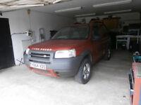Land Rover Freelander, 2001, 86000 miles, MOT 12 Months