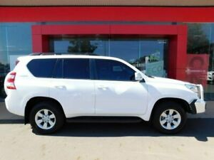 2014 Toyota Landcruiser Prado KDJ150R MY14 GXL (4x4) Glacier White 5 Speed Sequential Auto Wagon Swan Hill Swan Hill Area Preview