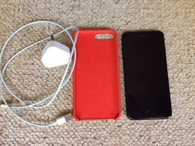 APPLE iPHONE 7PLUS/ 128GB/ MATTE BLACK/FACTORY UNLOCKED/MINT CONDITION/ WITH APPLE CASE AND CHARGER