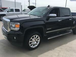 2015 GMC Sierra 1500 Denali 6.6 feet box 6.2 V8 Black