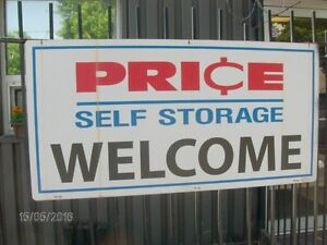Public Auction at Price Self Storage Saturday May 27,2017