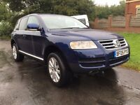 2005 Volkswagen Touareg 2.5 Tdi Turbo diesel Automatic 4x4 1 owner from new