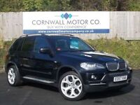 BMW X5 3.0 D SE 7STR 5d AUTO 232 BHP 2 OWNER WITH £ (black) 2007
