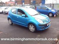 2009 (59 Reg) Nissan Pixo 1.0 N-Tec 5DR Hatchback BLUE + MEGA LOW MILES