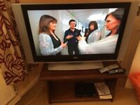 """LG 42""""LCD TV with freeview HD box"""