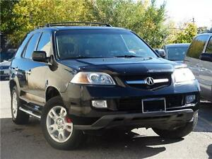2006 Acura MDX w/Tech Pkg with leather backup cam