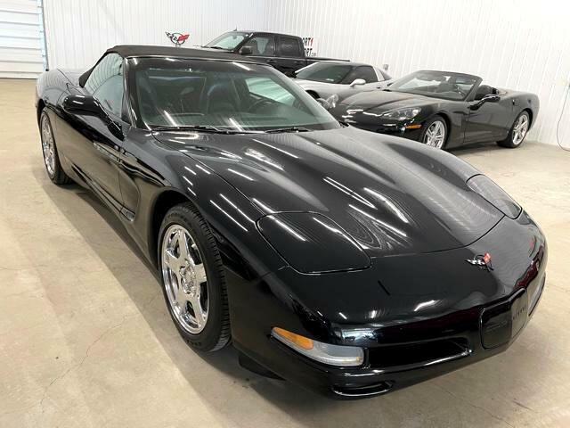 1999 Black Chevrolet Corvette Convertible  | C5 Corvette Photo 4