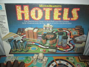 ***1987 MILTON BRADLEY HOTELS GAME 100% COMPLETE/NICE!!!***