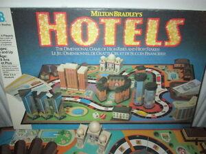 ***1987 MILTON BRADLEY HOTELS GAME 100% COMPLETE/NICE!!!***