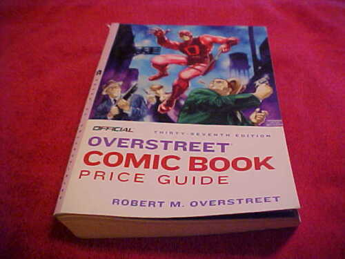 37TH OFFICIAL OVERSTREET COMIC BOOK PRICE GUIDE DAREDEVIL COVER