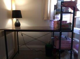 4-Tier Shelves Desk. Excellent Condition.