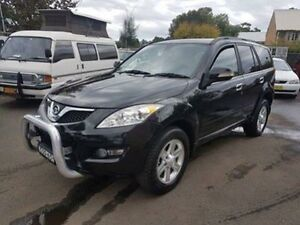 2013 Great Wall X240 CC6461KY MY11 (4x4) Black 5 Speed Manual Wagon Campbelltown Campbelltown Area Preview