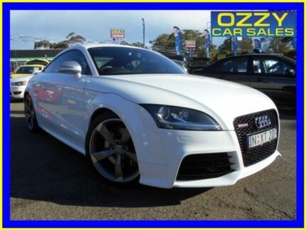 2010 Audi TT 8J RS White 6 Speed Manual Coupe Penrith Penrith Area Preview