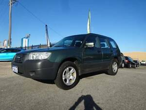 2007 SUBARU FORESTER X MY07 4D WAGON 2.5L INLINE 4 4 SP AUTO Wangara Wanneroo Area Preview