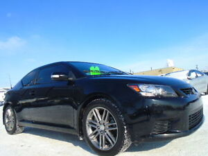 2011 TOYOTA Scion tC SPORT LUXURY PKG-LEATHER SUNROOF-ONLY 96K