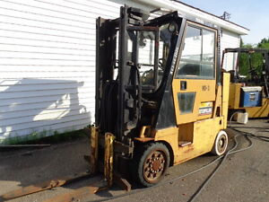 CAT GC40 FORK LIFT CLOSED IN CAB PRICE $ 6900 OBO