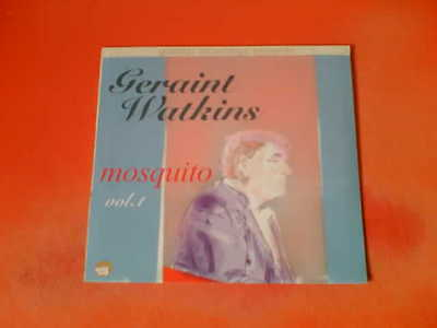"GERAINT WATKINS Mosquito Vol. 1 10"" Vinyl!"