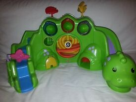 Used Fisher Price Drop and Roar Dinosaur light up toy £10