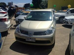 2007 Nissan Tiida Gold Automatic Hatchback Dandenong Greater Dandenong Preview