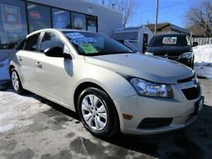 2013 CHEVROLET CRUZE LS * LOW KMS * NEW TIRES * LOADED !!!