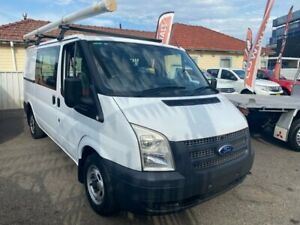 2012 Ford Transit VM MY10 Low (MWB) White 6 Speed Manual Van Waratah Newcastle Area Preview