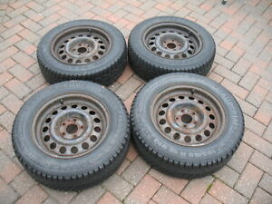 740 Volvo 940 Snow tires and Rims