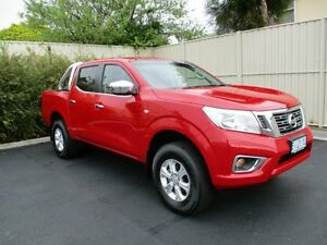 2015 Nissan Navara NP300 D23 RX (4x4) Burning Red 7 Speed Automatic Dual Cab Utility Devonport Devonport Area Preview