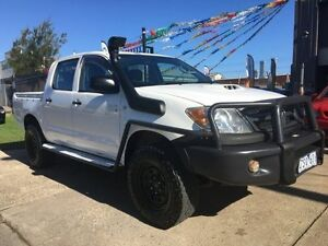 2007 Toyota Hilux KUN26R 06 Upgrade SR (4x4) 5 Speed Manual Dual Cab Pick-up Brooklyn Brimbank Area Preview