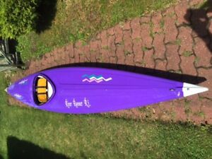 River Runner R5 indestructible fun kayak for river and lakes