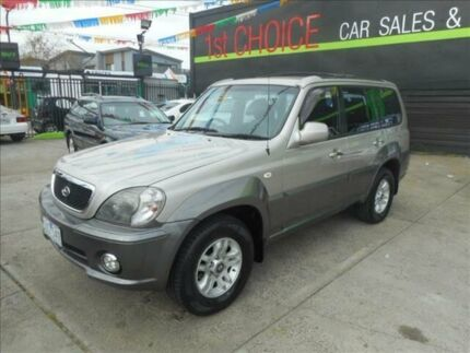 2004 Hyundai Terracan  4 Speed Automatic Wagon Preston Darebin Area Preview