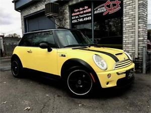 2003 MINI Cooper Hardtop S TOIT PANORAMIQUE **MANUAL 6 SPEED**