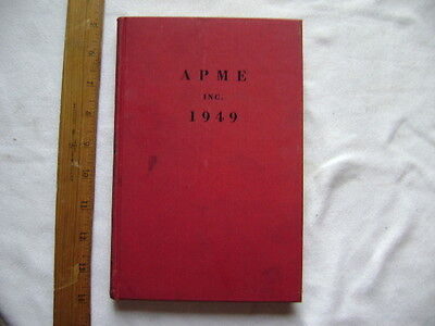 APME, Inc. 1949.  Review of Associated Press Study Committees.  Hardcover.