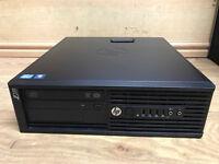 HP Z220 Workstation SFF Quad Core i5-3470 3.2GHz 8GB RAM 750GB Win 7 Pro PC