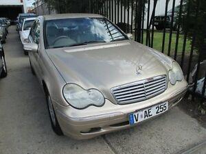 2002 Mercedes-Benz C200 Kompressor W203 MY2003 Elegance Fawn 5 Speed Sports Automatic Sedan Tottenham Maribyrnong Area Preview